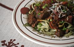 slow cooker short ribs and red wine sauce