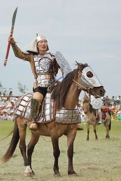 Yakutia warrior reenactment Олонхо
