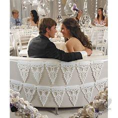 """Just Married"" Celebration Banner"