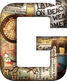 PAPIROLAS COLORIDAS: alfabeto victoriano.