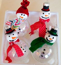 Cute for Christmas crafting with kids