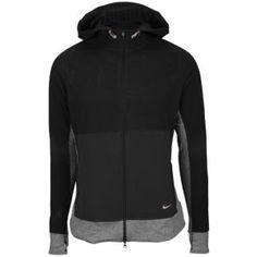 Nike Dri-Fit Sphere Colorblock Jacket - Women's - Black/Black/Metallic Red Bronze
