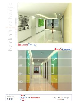 PROPOSED Hotel Cordela Yogyakarta - Typical Lift Lobby & Room's Corridor