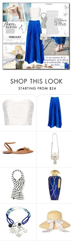 """""""Summer in the Winter"""" by monika-jall ❤ liked on Polyvore featuring The Great, Alice + Olivia, Dolce&Gabbana, Rebecca Minkoff, The Merchant Of Venice, Barbour and Boodles"""
