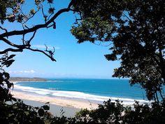 Salah satu Pantai yang ada di Desa swarna, Banten-Indonesia