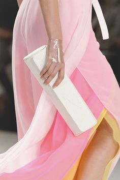 notordinaryfashion:  wink-smile-pout:  Chado Ralph Rucci Spring 2013 Details   Love the colors