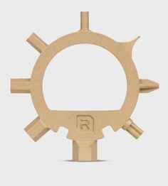 Gold Ringtool Steel Bike Tool by Reductivist Inc. on Scoutmob Shoppe