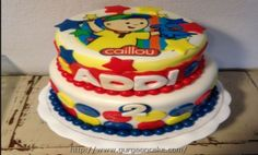 caillou birthday cake chicago Picture