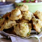 NOTHING BETTER THAN A BISCUIT FOR EASTER BRUNCH! THIS RECIPE IS FROM ONE OF OKLAHOMA'S OWN - REE DRUMMIOND. Cheddar-Chive Biscuits | The Pioneer Woman Cooks | Ree Drummond
