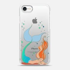 Casetify iPhone 7 Snap Case - LAZY MERMAID 2 - by Ebi Emporium #Casetify @Casetify #CasetifyArtist #iPhoneCase #iPhone #iPhone7 #iPhone6 #iPhone7Plus #iPhone8 #iPhone8Plus #iPhoneX #ClearCase #Transparent #Lazy #Mermaid #Mermaid #MermaidLife #Lazy #Nap #Siren #Sleep #MustHave #Samsung #EbiEmporium #Summer #Girly #MermaidHair #Mermaids