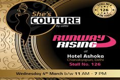 Participated at Runway Rising by Ramola Bachchan Ji at Hotel Ashok, Delhi on 4th March15