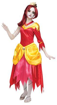 zombie belle princess kids costume mr costumes - Popular Tween Halloween Costumes