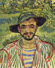 Ван Гог. Картина «Молодой крестьянин»