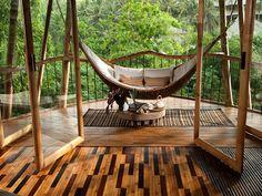 Prachtige en duurzame bamboewoningen in Bali