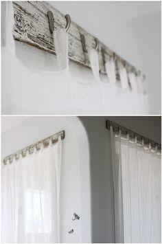 Unique curtain rod images