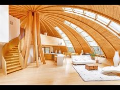 Eco-Friendly Rotating Dome Country Retreat - YouTube