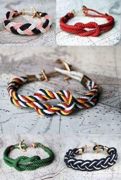 this would be so easy to make! if only i could find some colored cord/twine. blast! mandylion