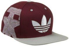 NCAA Flat Brim Snapback Hat - NG42Z, Texas A Aggies, Adjustable- maroon adidas. $15.88. Save 34% Off!