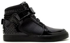 hot sale online 5cc4a ddc08 Chapter X Vanquish X Adidas AdiRise Mid - Black on Black.