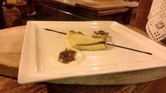 Crespellina integrale alla zucca con mostarda di cipolle rosse - piatto #GIFT