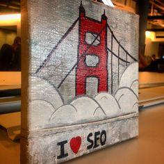 Our latest creation: I <3 SFO