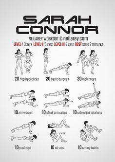 The Sarah Connor Workout