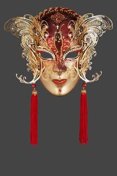 Venetian Metal Masks For Sale Made In Venice - Original Venice Shop.  Viviane M · Maschere Veneziane 8aba9a48e82c