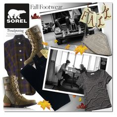 The Major Collection from SOREL by stacey-lynne on Polyvore featuring moda, Abercrombie & Fitch, Jean-Paul Gaultier, Big Star, SOREL, STELLA McCARTNEY and Melissa