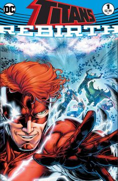 Titans: Rebirth #1 real cover<br />