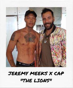 "Jeremy Meeks VS Richard Valentine's new cap ""The Lions"" during the Cannes Film Festival Richard Valentine, Cannes 2017, Cannes Film Festival, Baseball Cap, Lions, Luxury Branding, Men Casual, Mens Fashion, Mens Tops"