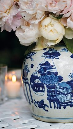 A stunning collection of chinoiserie, these beautiful vases and jars are based on authentic works of art passed down from generation to generation, starting in the Ming dynasty. | Frontgate: Live Beautifully Outdoors