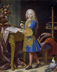Carlos III, niño - Colección - Museo Nacional del Prado