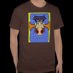 Cool Jazz Abstract Cubism , Jazz Fest 2011 T Shirt
