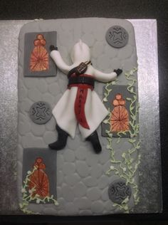 That's awesome! Everything Is Awesome, Assassins Creed, Nerdy, Cake Decorating, Cakes, Create, Birthday, Biscuit, Video Games