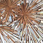 Explosive Scrap Timber Assemblages by Louise McRae