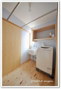 WEB内覧会/期待以上に便利だった洗濯室 | ぼちぼち暮らし