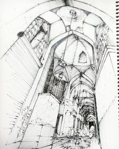 """""""#کروکی  #معماری. #اسکیس. #sketch  #arquitectura"""""""