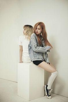 160901 | BLACKPINK Lisa & Rosé Teaser Photoshoot Behind Cut