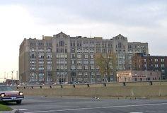 Cass Tech High School, now since demolished, Detroit.