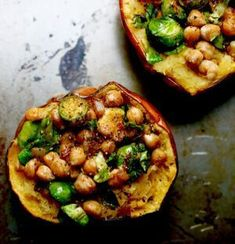 This week we bring you this mouthwatering Chickpea Stuffed Acorn Squash. I got this gorgeous acorn squash as part of my weekly CSA box, and I was totally geeked! I've been meaning to develop some fall recipes, and acorn squash fits perfectly with the season. For those of you not familiar with this delight, acorn …Continue Reading...