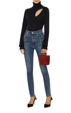 Chrissy High Rise Skinny Jeans by CITIZENS OF HUMANITY Now Available on Moda Operandi