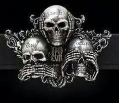 . Raiders Stuff, Raiders Girl, Skull Belt Buckle, Belt Buckles, Crane, Raiders Tattoos, Raiders Wallpaper, Tears In Eyes, Three Wise Monkeys