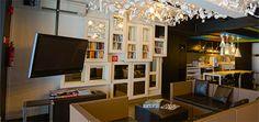 Checkers Inn Hostel, Singapore, Bookcase, Flat Screen, Shelves, Home Decor, Blood Plasma, Shelving, Decoration Home