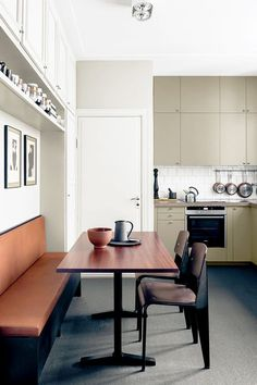 How to Decorate a Small Kitchen — Breakfast Nook