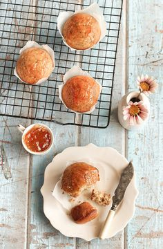 Earl Grey & Poppy Seed Muffins- i can almost smell this baking in the oven