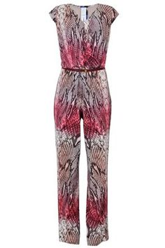 Macacão Feminino Estampado rosê Seiki @ ChicEElegante Playsuits, Jumpsuits, Jumpsuit Elegante, Cool Outfits, Fashion Outfits, Casual Dresses, Summer Dresses, Chor, Well Dressed