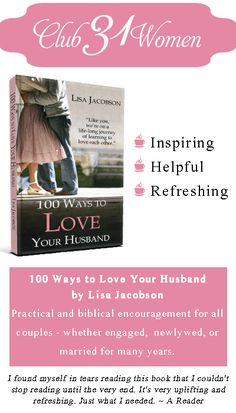 """""""Are you looking for some practical ideas on what being a godly wife looks like? This book is a great little field manual—short and simple and yet packed full of solid, biblical ideas on how to love and honor your man."""" ~ A Reader's Review"""