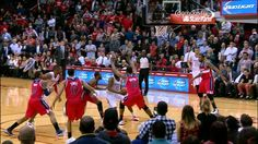 James Harden's Game-Winning Eurostep Layup