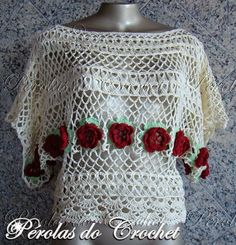 Broomstick lace crochet inspiration.