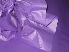"10 Sheets of Purple Tissue Paper (20"" x 26"") (2.00 USD) by GardeningGalAtWork"